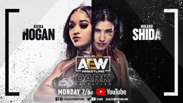 Kiera Hogan Debuts AEW Dark Elevation