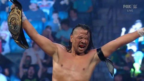 King Nakamura WWE Intercontinental Championship