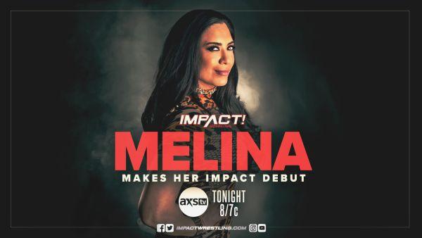 Melina IMPACT Wrestling Debut