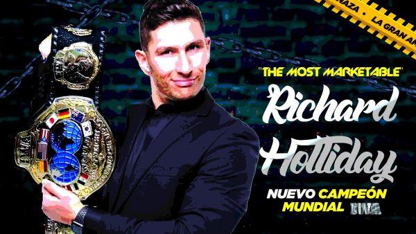 Richard Holliday IWA World Heavyweight Championship