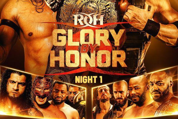ROH Glory by Honor Night 1