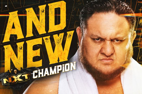 Samoa Joe NXT Championship TakeOver 36