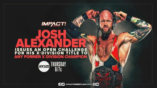 X-Division Open Challenge IMPACT Wrestling