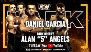 AEW Dark card Garcia vs Angels