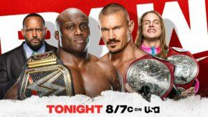Bobby Lashley vs Randy Orton WWE Raw card