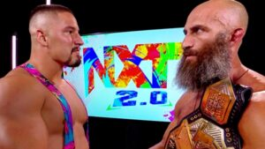 NXT 2.0 Debuts - Bron Breakker stares down Ciampa