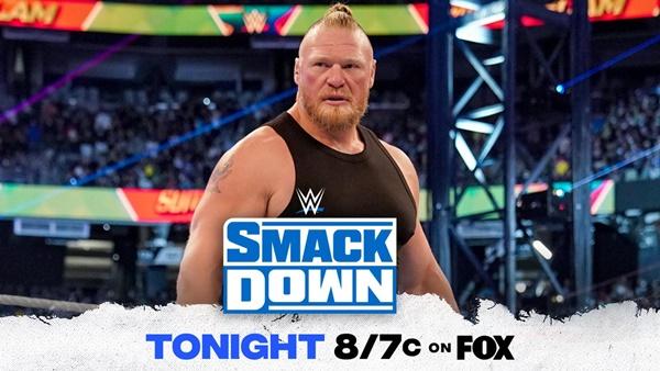 Return of Brock Lesnar to SmackDown