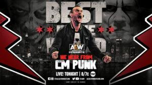 CM Punk AEW Dynamite results