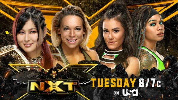 Io Shirai and Zoey Stark vs Kacy Catanzaro and Kayden Carter WWE NXT Card / WWE NXT results