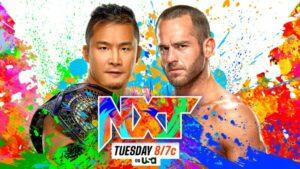Kushida vs Roderick Strong WWE NXT 2.0 card / WWE NXT results
