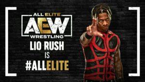Lio Rush is All Elite