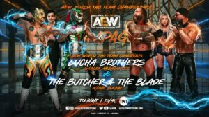Lucha Brothers vs Butcher:Blade AEW Rampage results