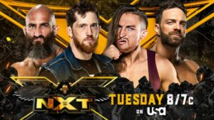 NXT Championship Fatal 4-Way (Tommaso Ciampa, Kyle O'Reilly, Pete Dunne, LA Knight)