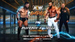 PAC vs Andrade El Idolo Graphic