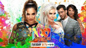 Raquel Gonzalez vs Franky Monet WWE NXT Card