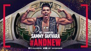 Sammy Guevara TNT Championship