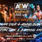 SuperKliq vs Jurassic Express and Christian Cage Rampage Grand Slam
