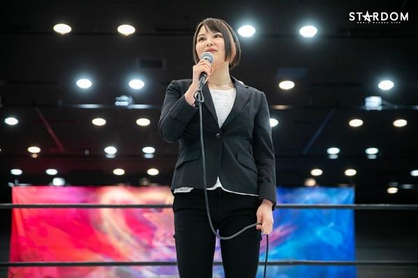 Waka Tsukiyama Speaks During her Debut