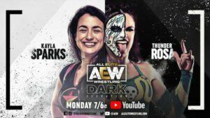 AEW Dark Elevation Kayla Sparks vs Thunder Rosa