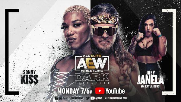 Sonny Kiss vs Joey Janela AEW Dark: Elevation