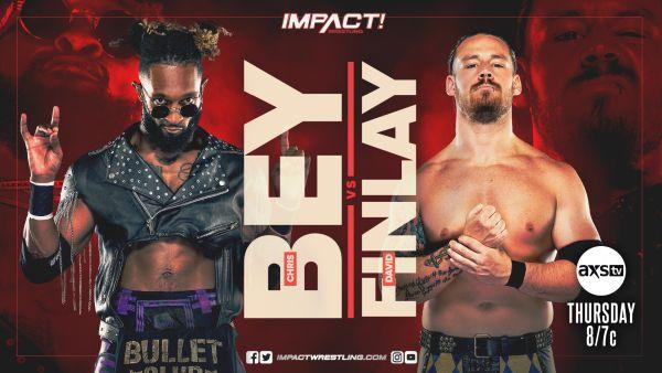 Chris Bey vs David Finlay IMPACT Wrestling