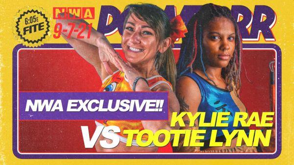 NWA Powerrr Kylie Rae vs Tootie Lynn