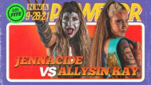 Jennacide vs Allysin Kay NWA Powerrr