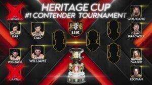 NXT UK Kenny Williams vs Noam Dar