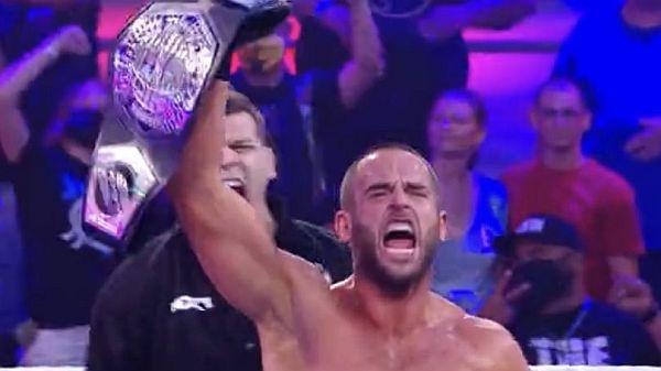 Roderick Strong NXT Cruiserweight Championship
