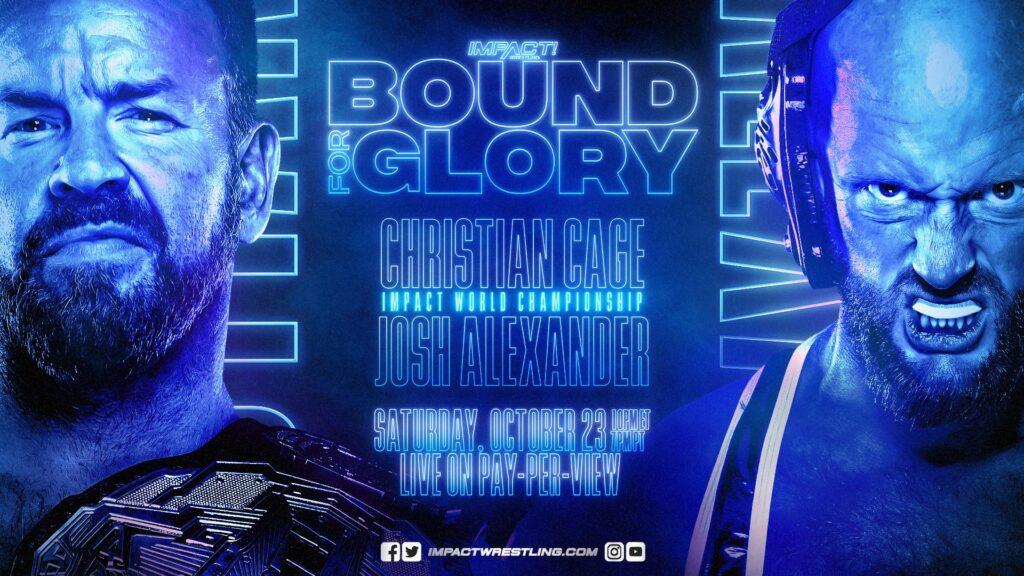 IMPACTO Bound For Glory 23/10/21 Tarjeta completa y predicciones