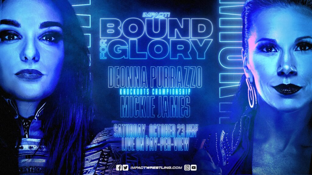 Mickie James Captures Knockouts Title at Bound for Glory