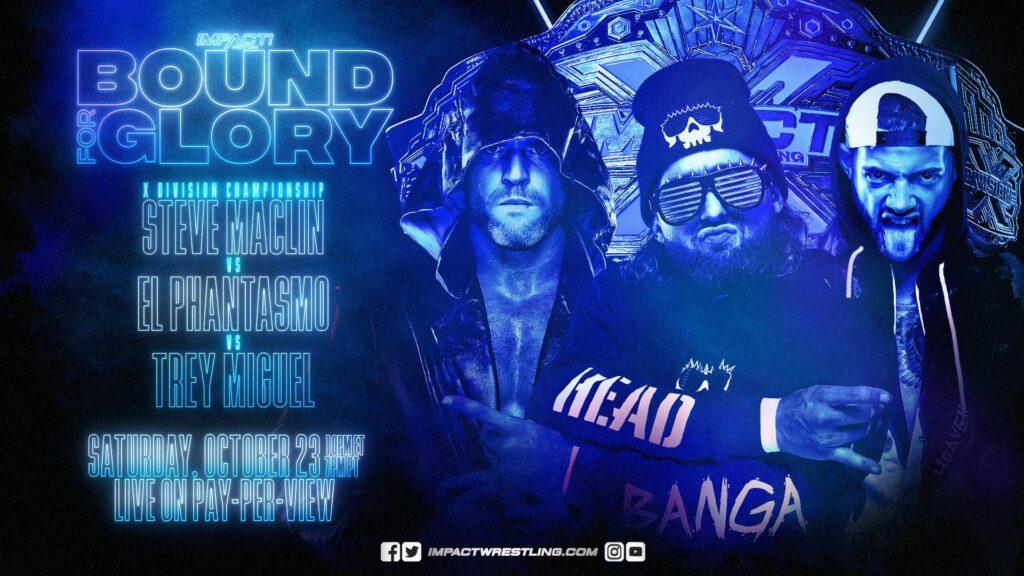 Trey Miguel gana el título de IMPACT X-Division en Bound for Glory