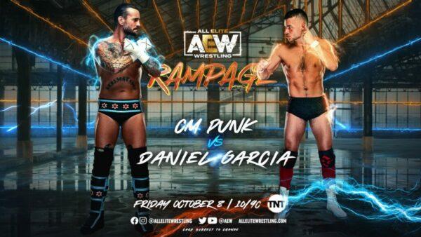 CM Punk vs Daniel Garcia AEW Rampage Results
