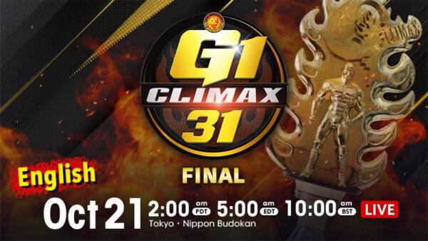 G1 Climax 31 Final
