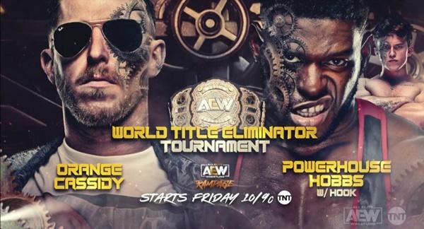 Vista previa de AEW Rampage (22/10/21): Eliminador del Campeonato Mundial AEW