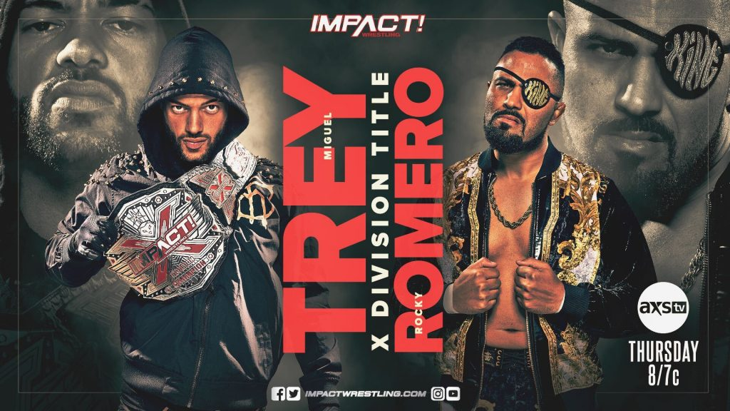 Trey Miguel Takes on Rocky Romero During the Bound for Glory Fallout Edition of IMPACT Wrestling