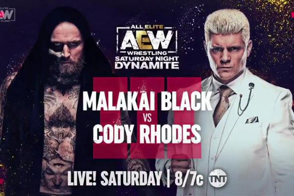 Vista previa: AEW Saturday Night Dynamite (23/10/21) – Malakai Black vs.Cody Rhodes III