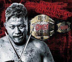 Masashi Takeda wins GCW UV Title