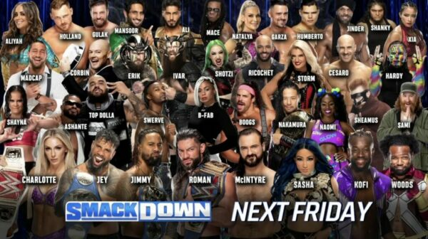 SmackDown Card Roster