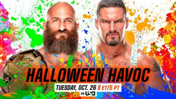 Tommaso Ciampa vs Bron Breakker Halloween Havoc Preview