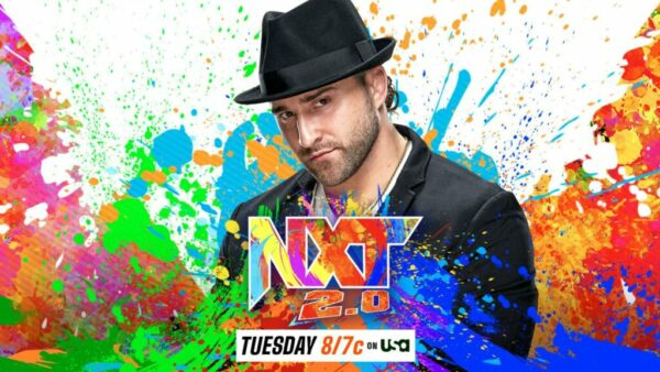 Tony D'Angelo WWE NXT 2.0 Card