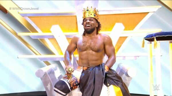 Xavier Woods King of the Ring