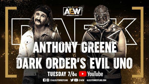 Anthony Greene vs Evil Uno AEW Dark