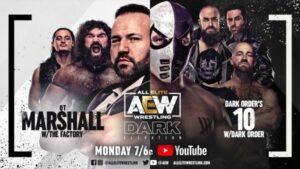 AEW Dark Elevation QT Marshall vs 10