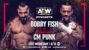 AEW Dynamite CM Punk In-Ring Debut