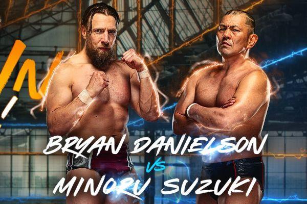 Bryan Danielson vs. Minoru Suzuki AEW Rampage Buy In