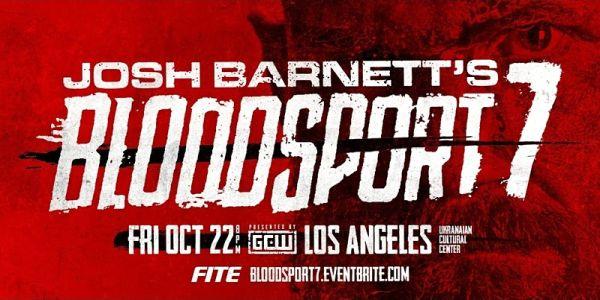 GCW Josh Barnetts Bloodsport 7