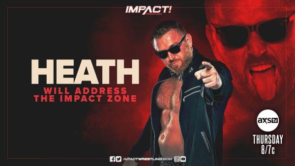 Heath IMPACT Wrestling Card