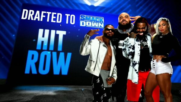 Hit Row Drafted SmackDown