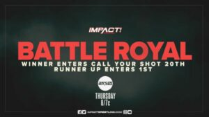 IMPACT Wrestling Call Your Shot
